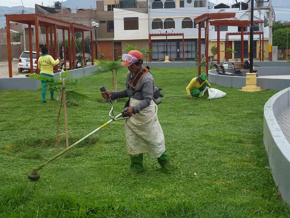 Municipalidad provincial de nasca for Mantenimiento de parques y jardines