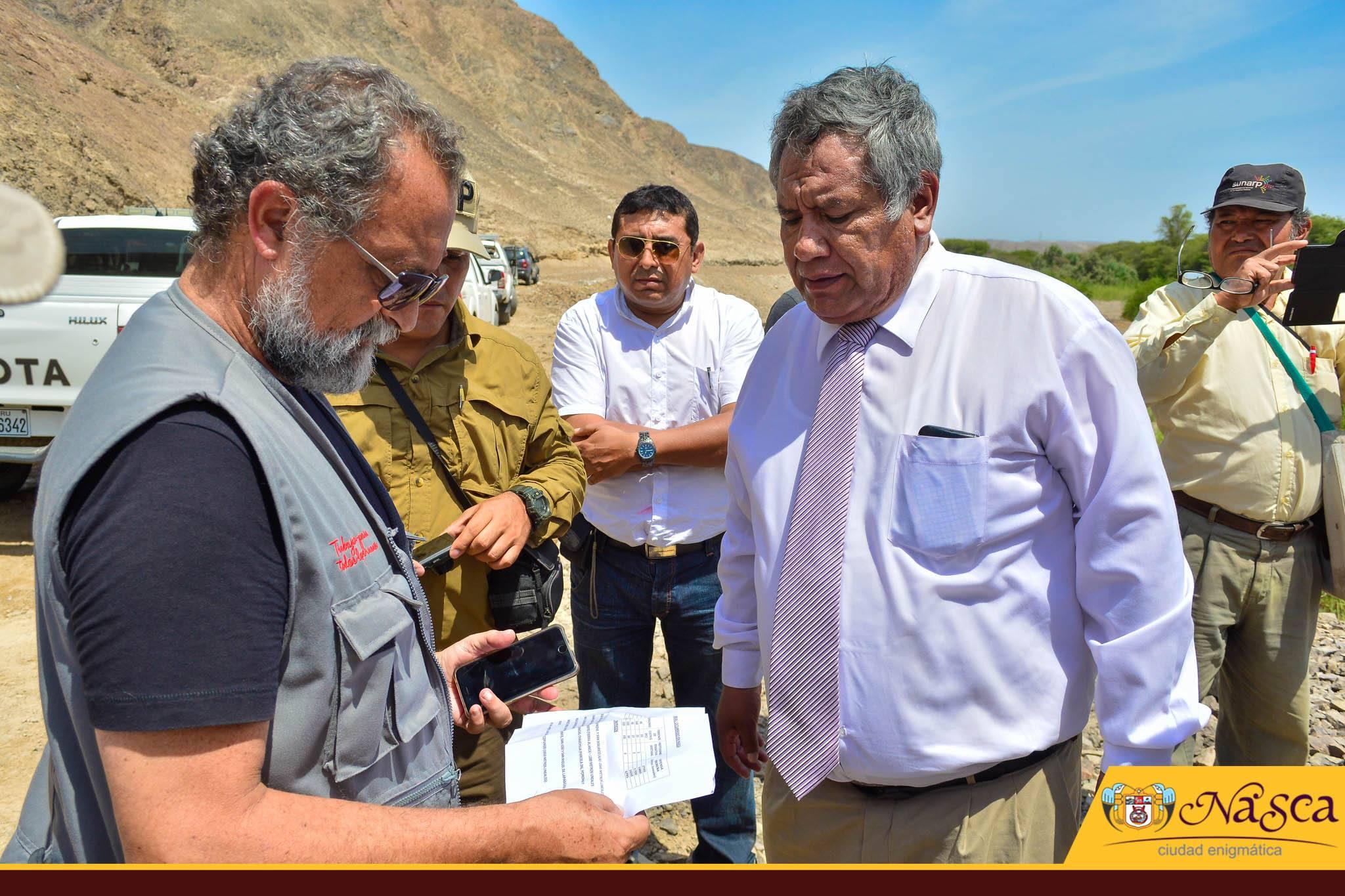 aa23b1bb111e6 VICEMINISTRO DEL INTERIOR Y ALCALDE CANALES EVALUARON DAÑOS EN CHANGUILLO Y  EL INGENIO El vice ministro del Interior
